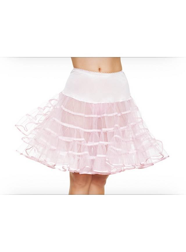 Petticoat pink mittellang