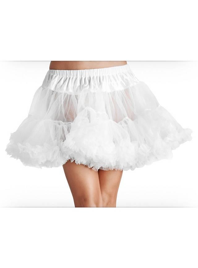 Petticoat Tüll weiß