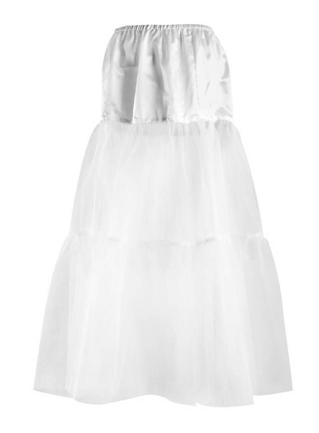 Petticoat lang weiß