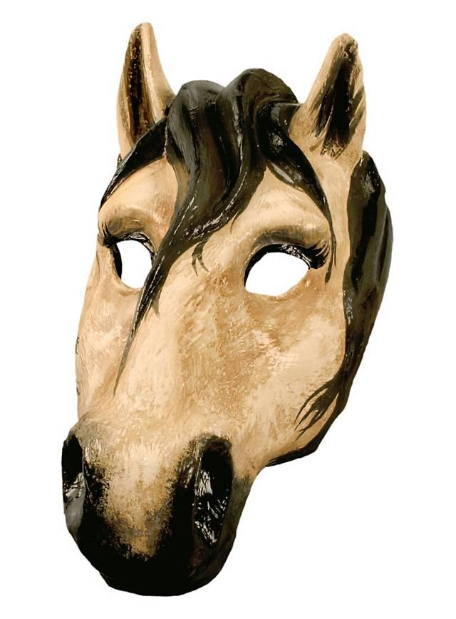 Pferd - Venezianische Maske