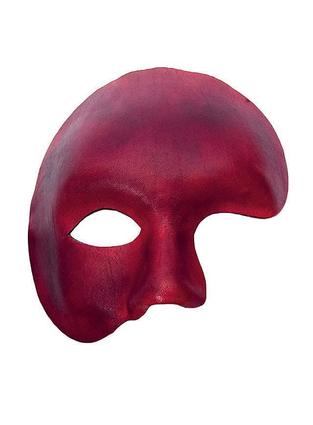 Phantom rot Venezianische Ledermaske
