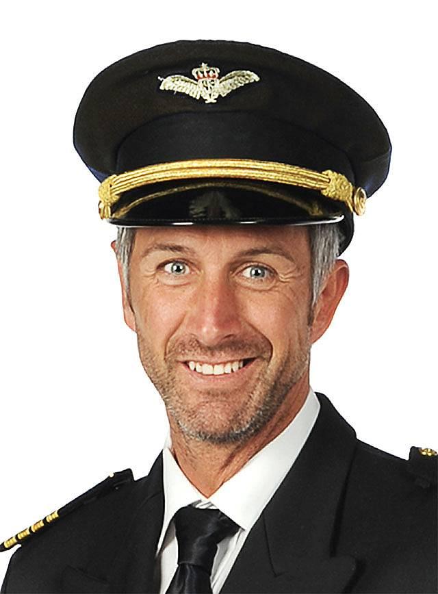 Pilot Hat black