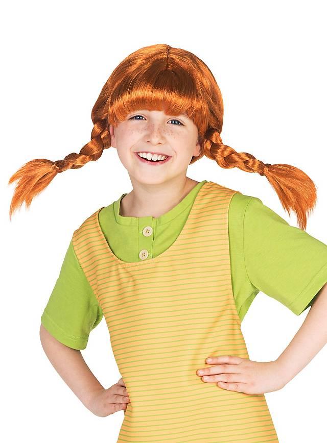Pippi Langstrumpf Perücke Für Kinder Kaufen Maskworldcom