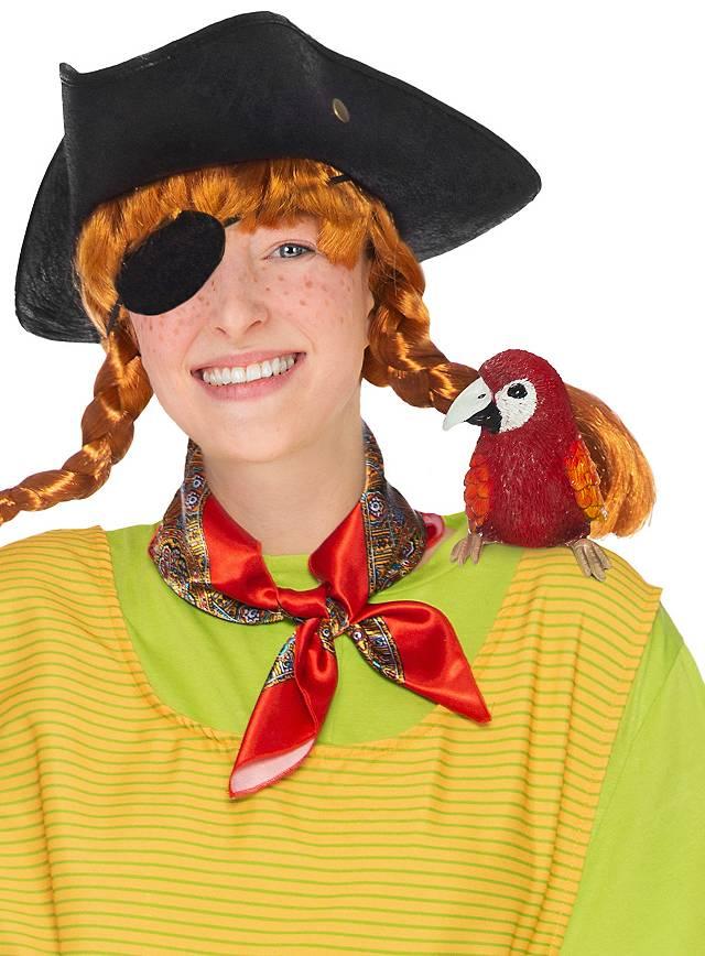Pippi Langstrumpf Papagei Rosalinda Schulterfigur