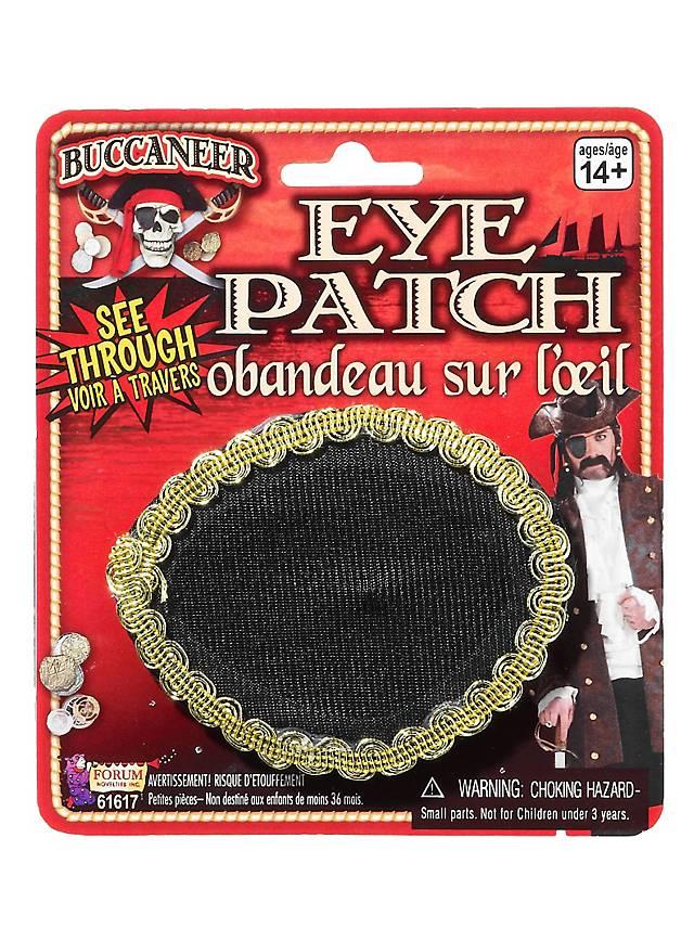 Pirat Augenklappe durchsichtig