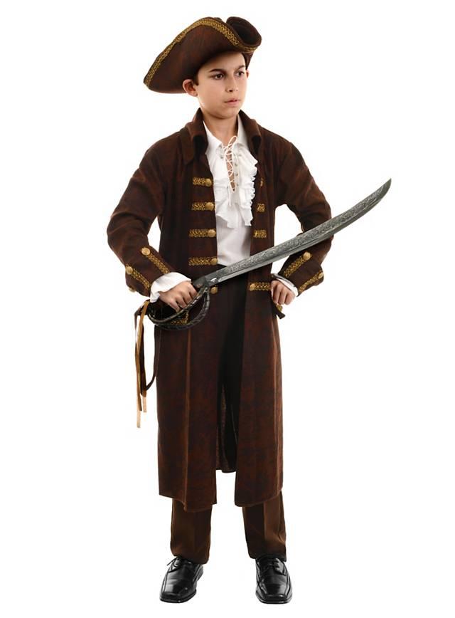 Pirat braun Kinderkostüm