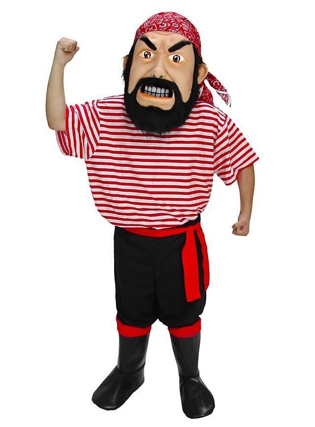 Pirat Maskottchen