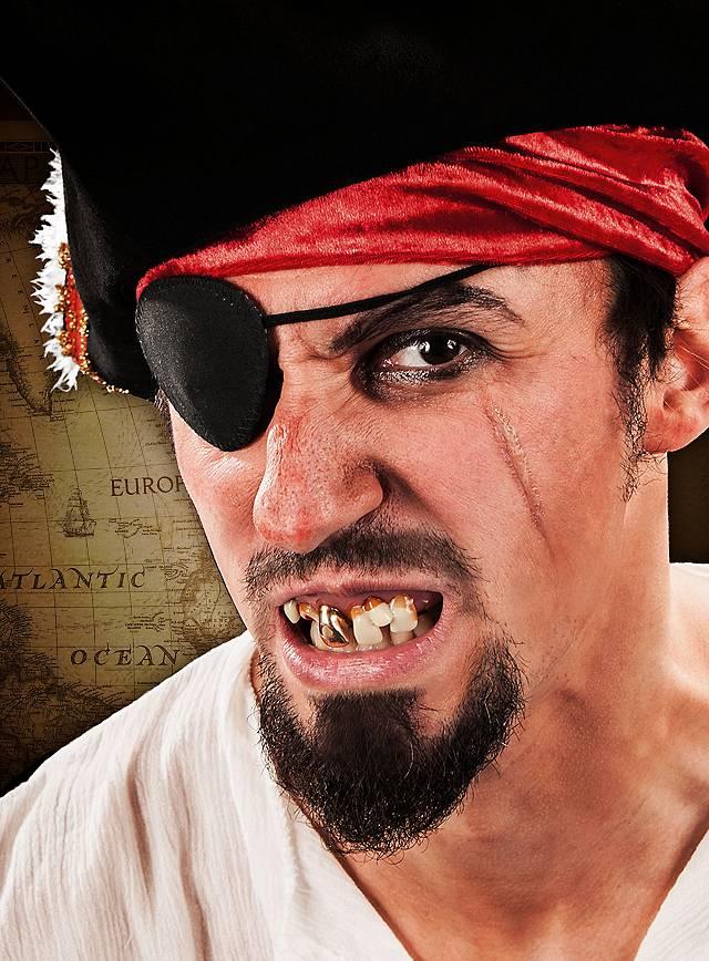 Pirat Zähne
