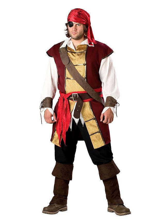 Pirate à sabre Costume de pirate