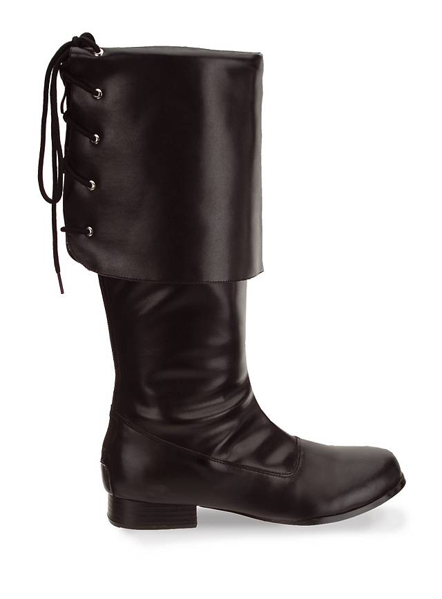 Cheap christmas wall decorations - Pirate Boots Men Black