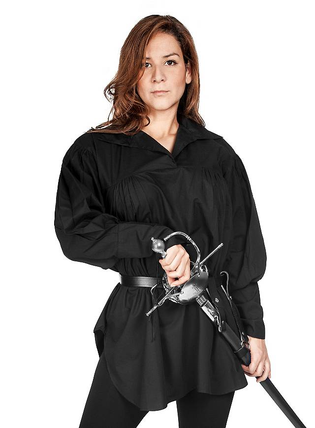 Pirate Lady Shirt black
