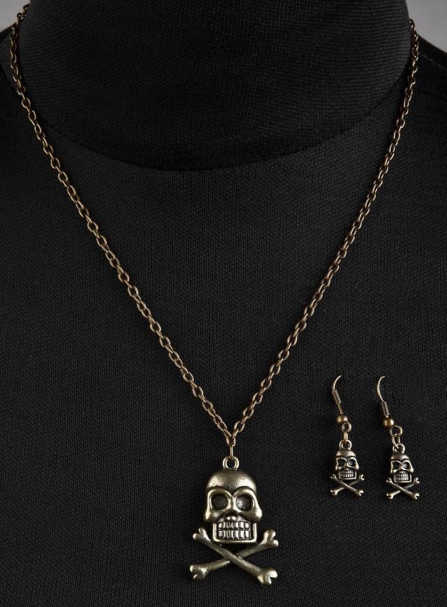 Piraten Schmuck gold