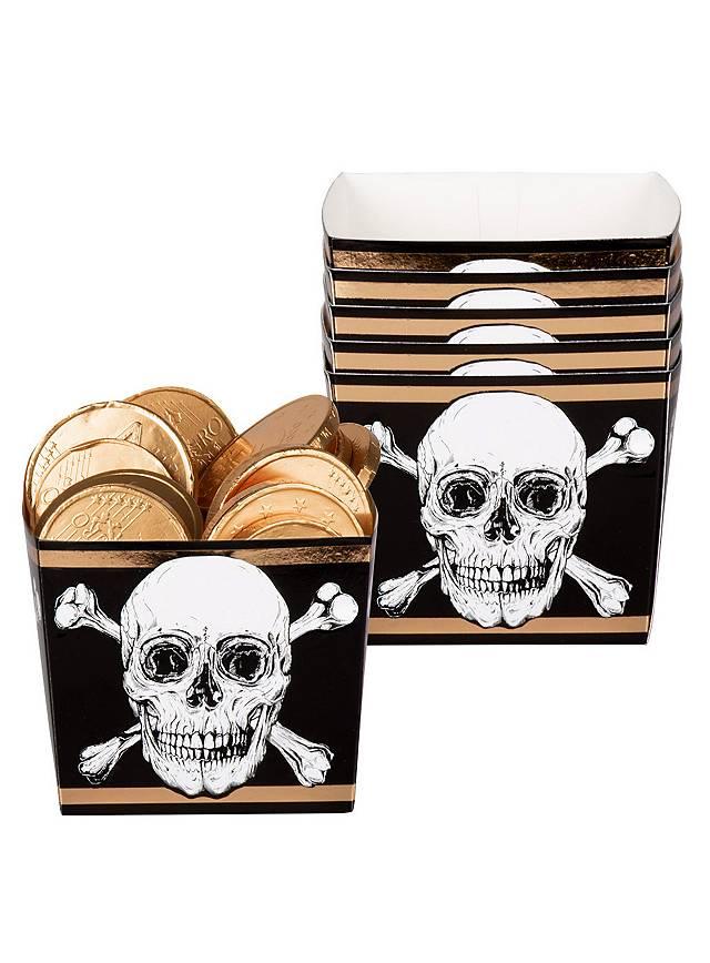 Piraten Snackbox 6 Stück