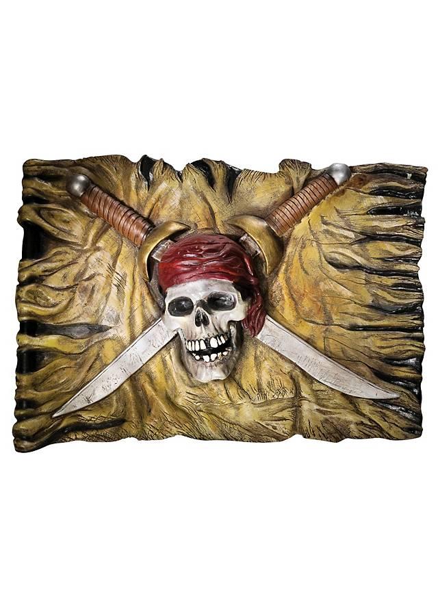 Piraten Wand-Dekoration