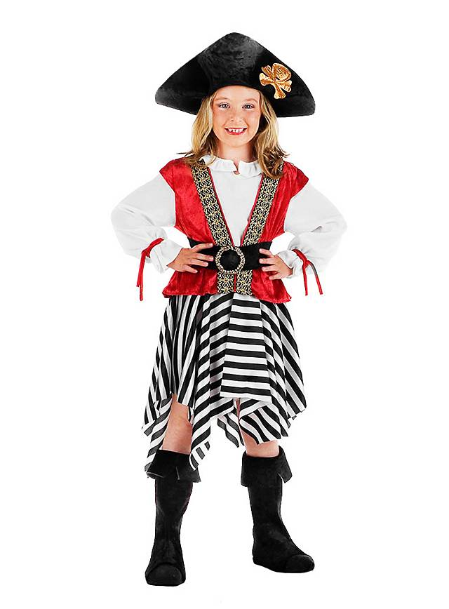 Piratenbraut Kinderkostüm
