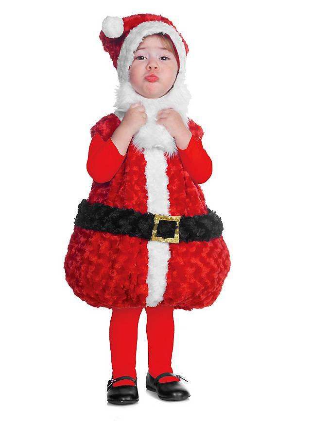 Plüsch-Santa Babykostüm