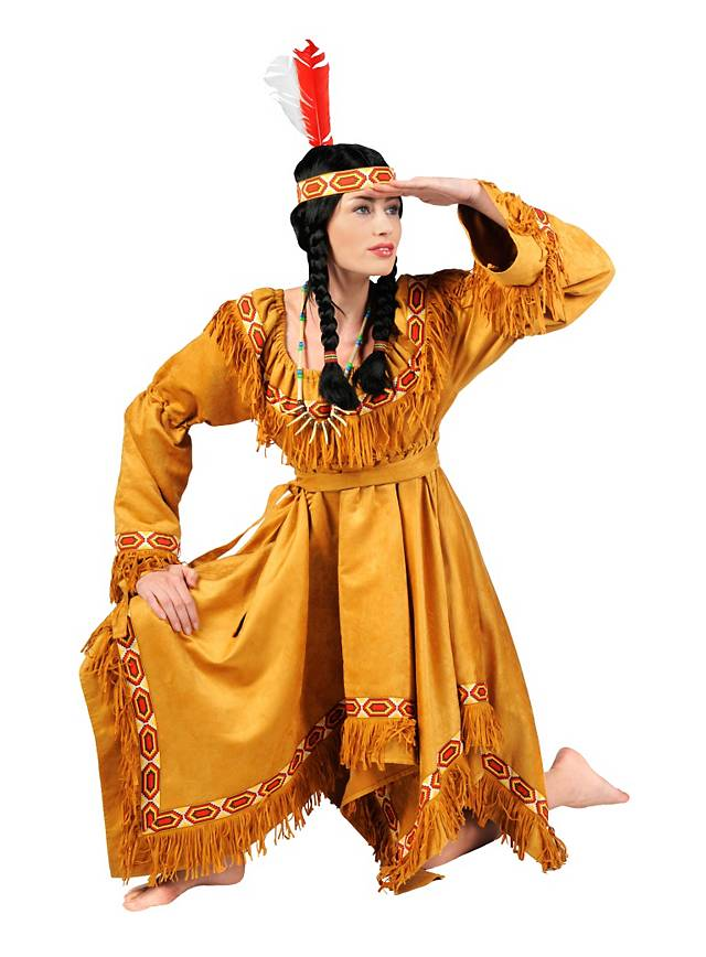 Western home decorations - Pocahontas Costume