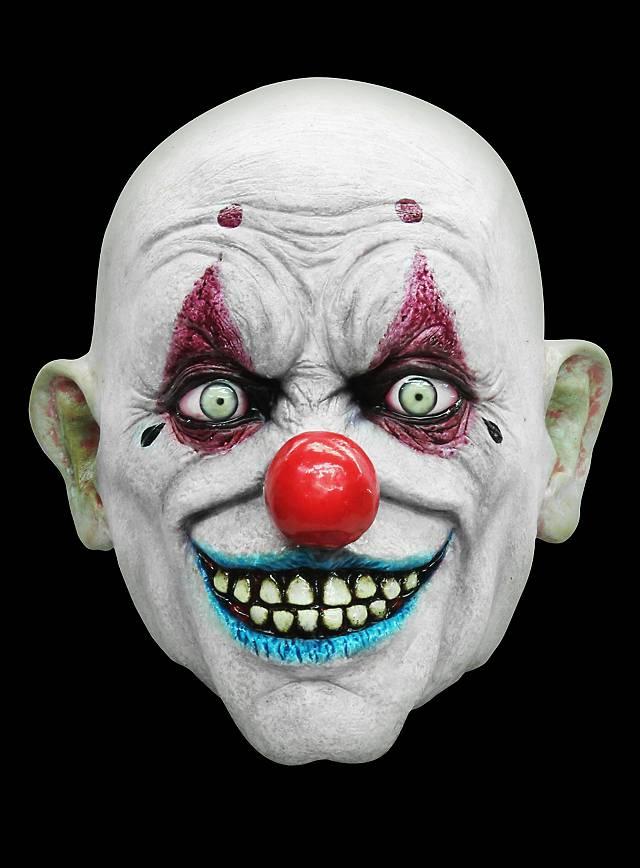 pogo der clown maske aus latex