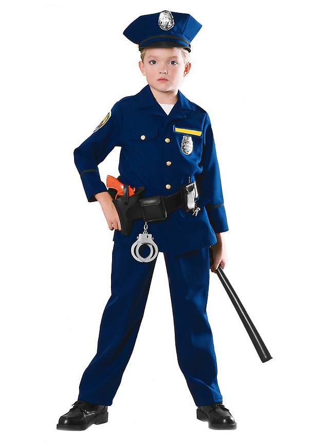 Policier Déguisement Enfant