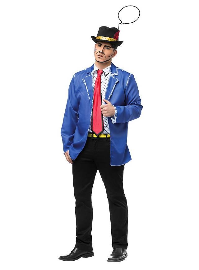 Pop Art Mann Kostüm