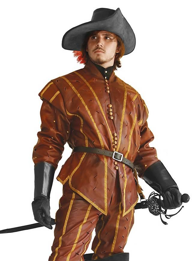 Pourpoint D'Artagnan en cuir
