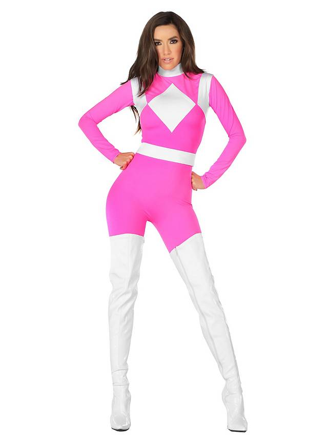 Power Danger Catsuit fuchsia
