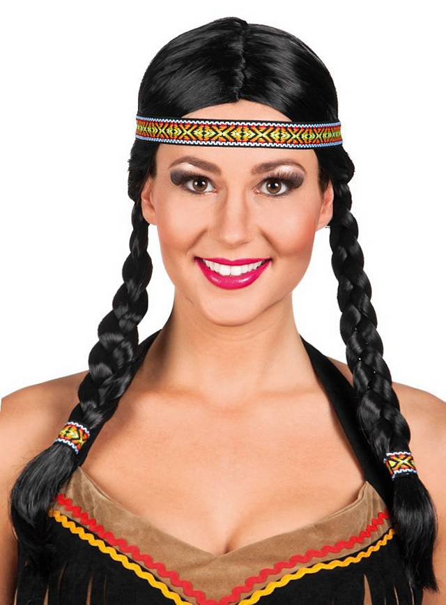Prairie American Indian Wig Women