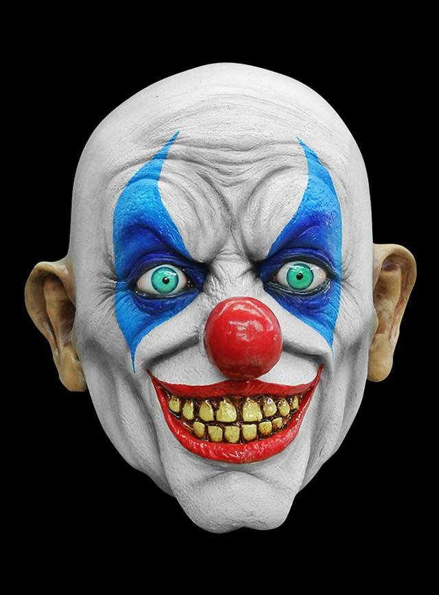 Halloween party decoration - Psycho Clown Horror Mask Made Of Latex