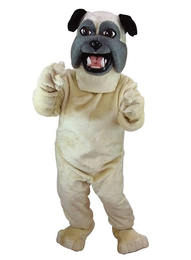 Pug Mascot