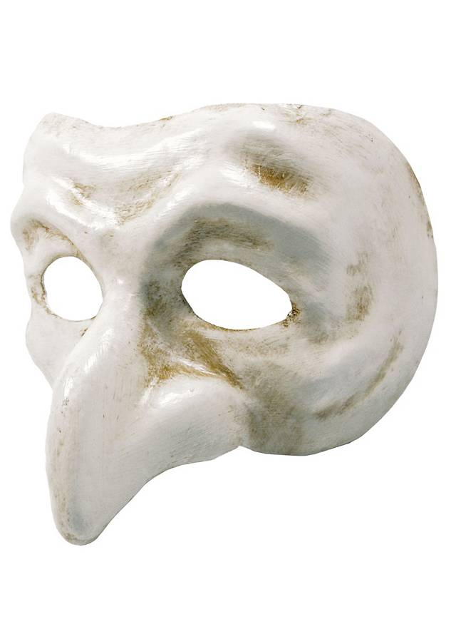 Pulcinella bianco - Venetian Mask