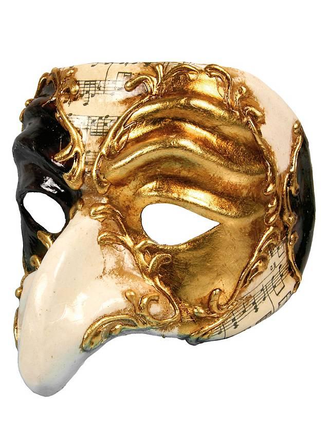 Pulcinella Scacchi Musica Venezianische Maske