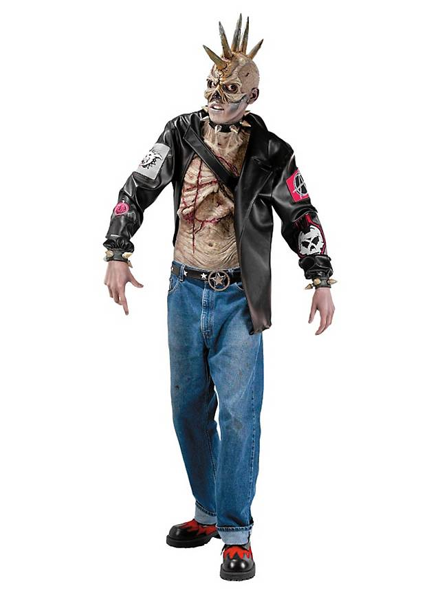 Macht gleich doppelt Ärger: der Punk Zombie