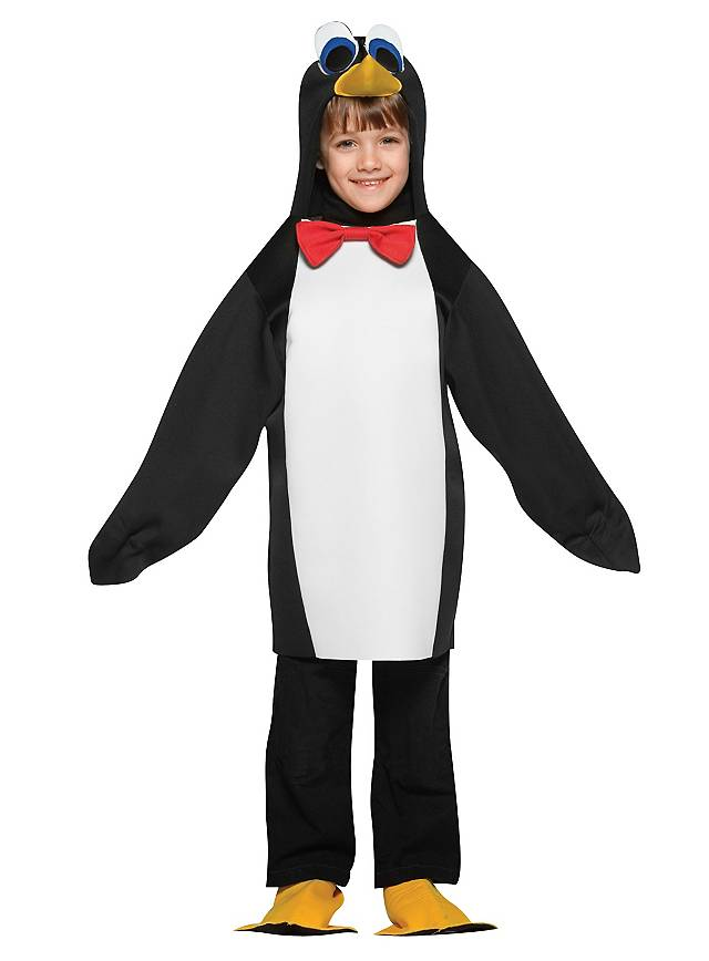 Putziger Pinguin Kinderkostüm