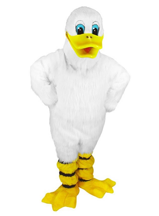 Quacki die Ente Maskottchen