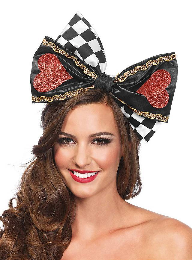 Queen of Hearts Bow