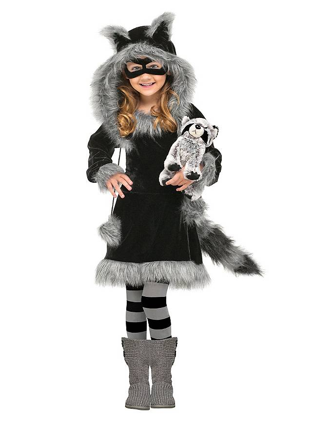 Raccoon Cub Kids Costume