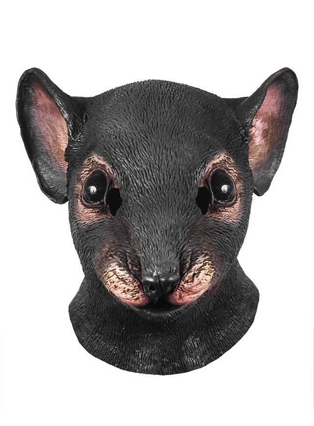 Rat Latex Full Mask Maskworld Com
