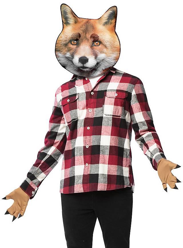 Realistischer Fuchs Accessoire Set
