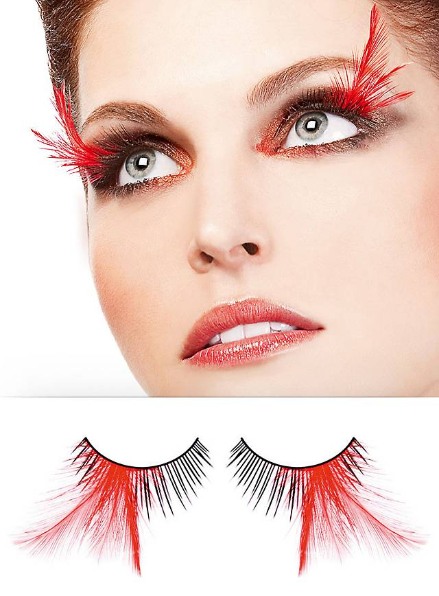 Red Lotus False Eyelashes