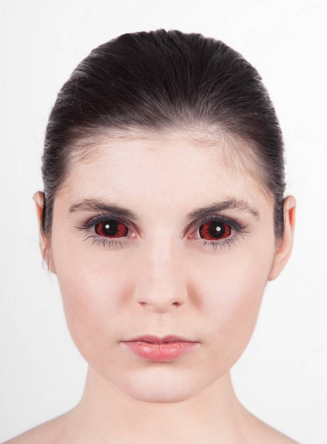 Red Sclera Contact Lenses Maskworld Com