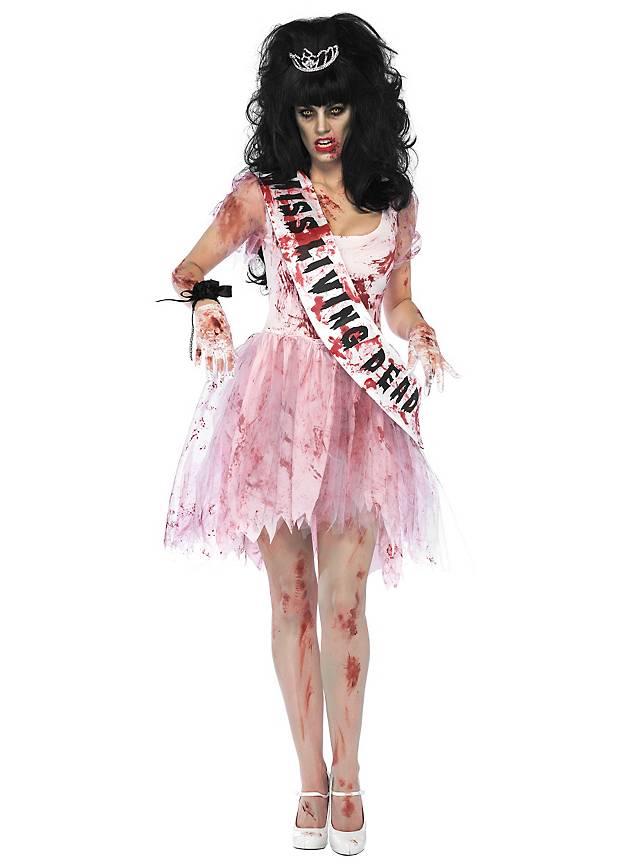 Reine du bal zombie Déguisement
