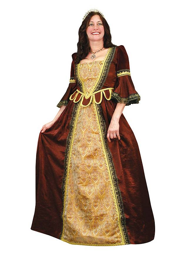 Renaissance Gown red