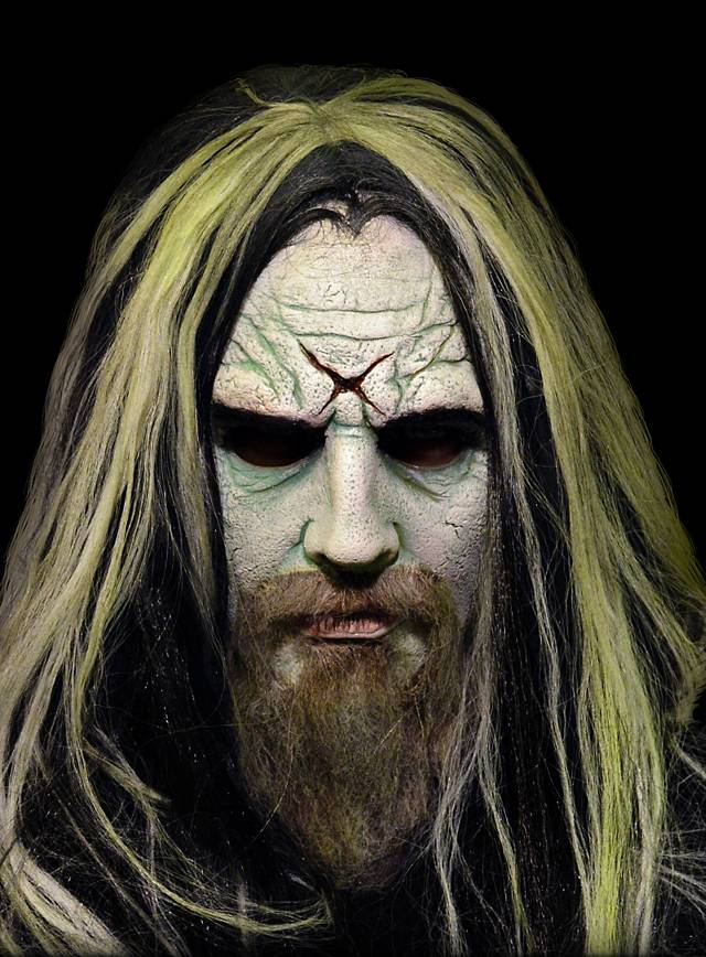 Rob Zombie Deluxe Maske aus Latex