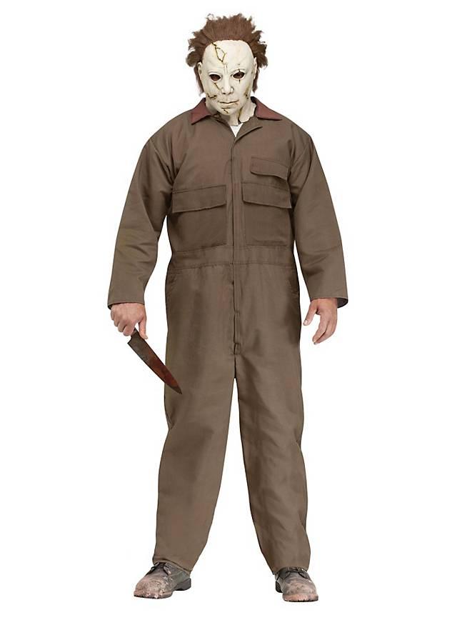 rob zombies halloween michael myers costume brown