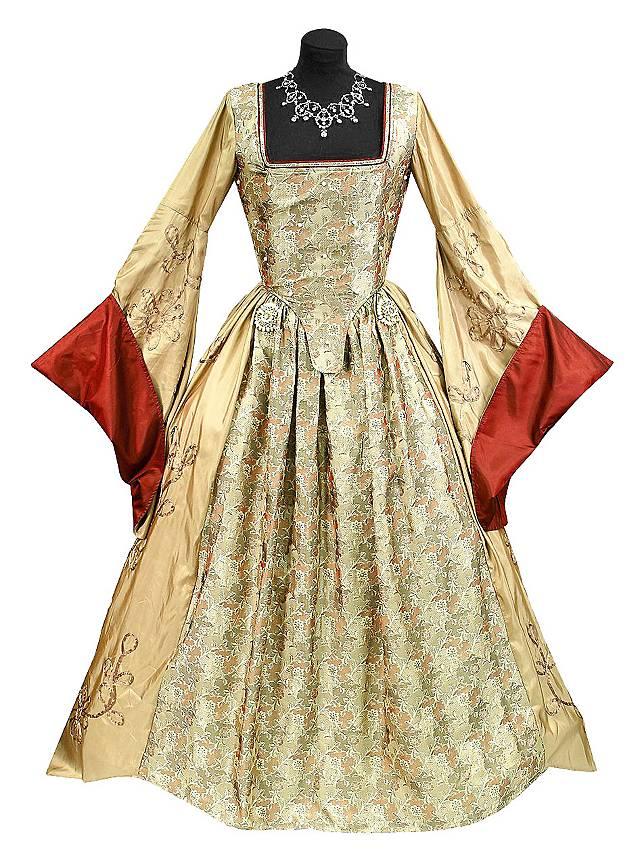 Robe «reine d'Angleterre» Déguisement