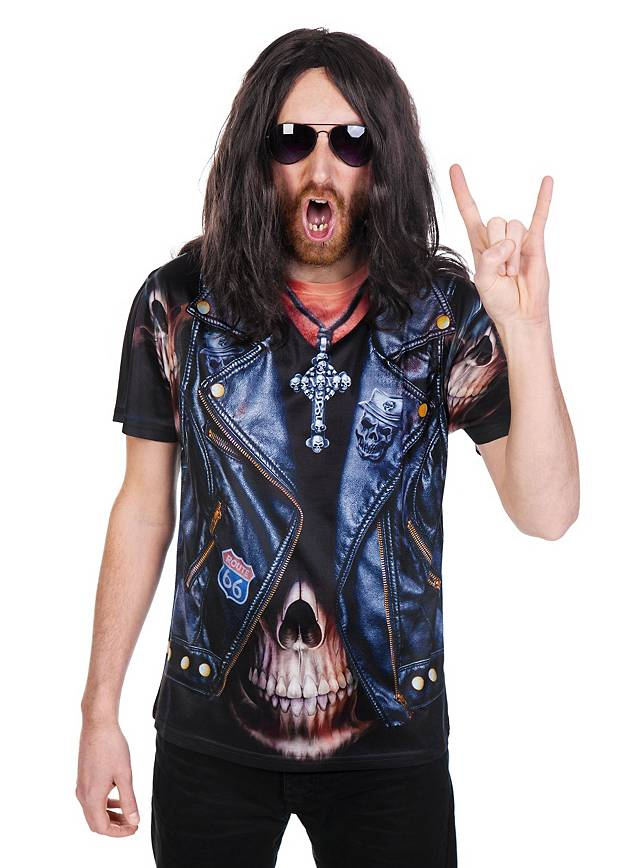Rocker costume t shirt for Costume t shirts online
