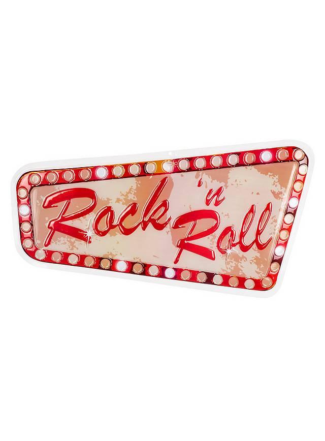 Rock'n'Roll Party Wanddeko