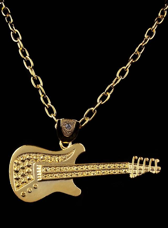 Rockstar Guitar gold Medallion