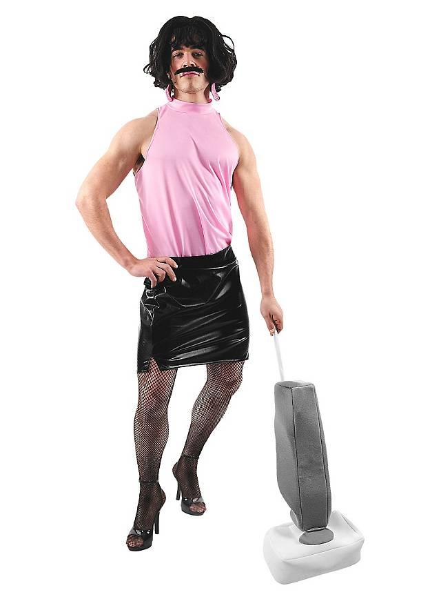 rockstar hausfrau kost m travestie herren kost m. Black Bedroom Furniture Sets. Home Design Ideas
