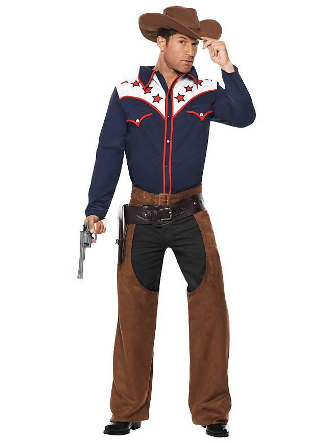 Rodeo Cowboy Kostüm Maskworldcom